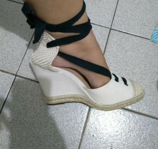 4162975b79 Sandália Anabela Schutz Nunca Usada!! - Roupas e calçados - Benedito ...