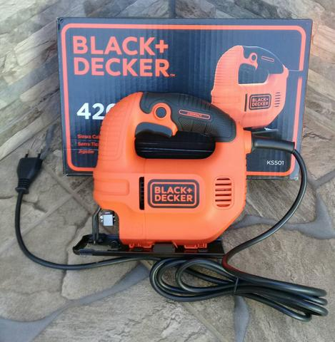 Serra tico-tico black decker - Foto 4