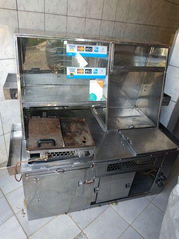 Kit para lanches e hot dog completo com muitos compartimentos... - Foto 3