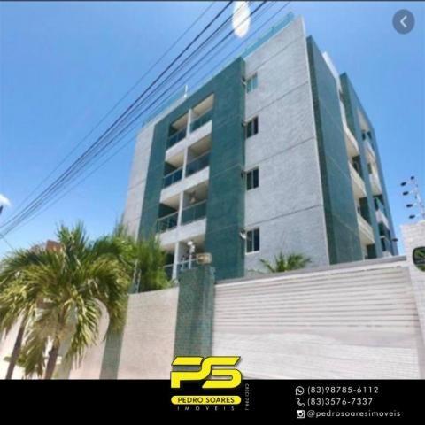 Apartamento com 3 dormitórios à venda, 106 m² por R$ 369.000,00 - Bessa - João Pessoa/PB - Foto 2