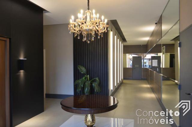 Apartamento à venda com 3 dormitórios em Jardim carvalho, Ponta grossa cod:392629.001 - Foto 4