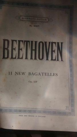 Partituras antigas de piano - Foto 6