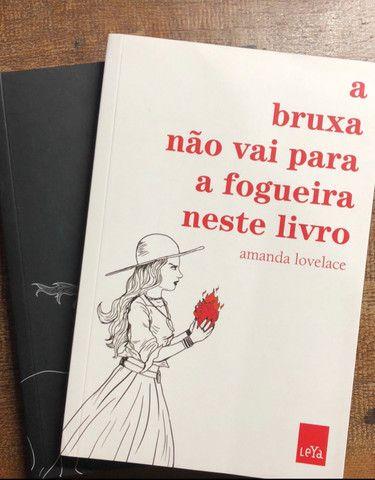 Livros de poesia Amanda Lovelace - Foto 2