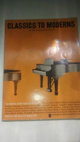 Partituras antigas de piano - Foto 5