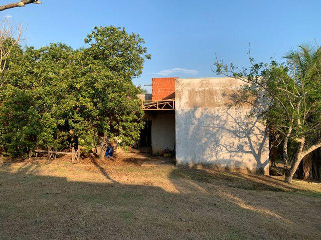 Terreno chácara Ipe com casa inacabada - Foto 9