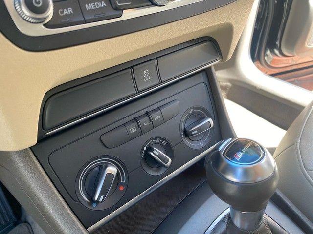 Audi Q3 interior caramelo Ipva 2021 Pago + Revisões - Foto 4