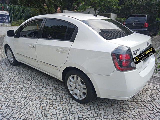 Nissan Sentra 2013 2.0 mec.branco(lindo!)completo+gnv+revisado+novíssimo!! - Foto 5