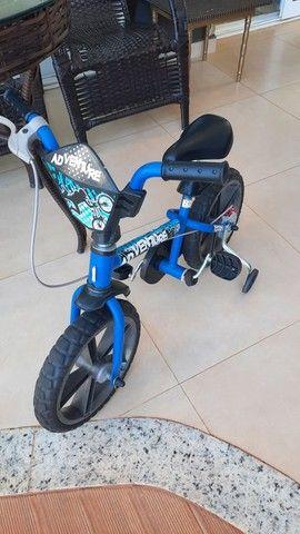 bicicleta infantil até 4/5 anos em TRES LAGOAS - Foto 2