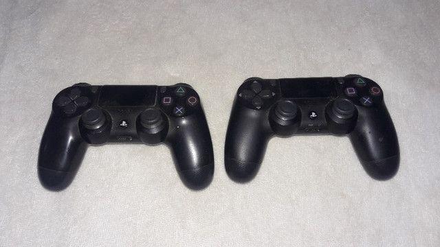 Ps4 slin 2 controles com fone hyperex varios jogos - Foto 4