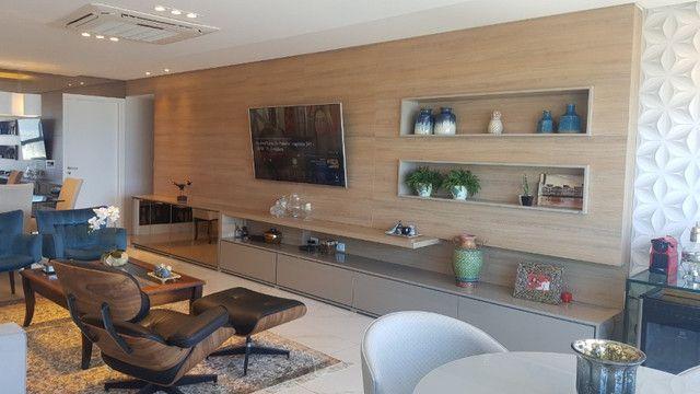 Dj- Apartamento andar alto com moveis fixos e planejados de luxo no Ed Jardim da Aurora - Foto 7