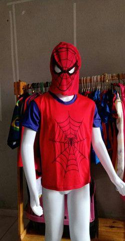 Blusas Super Heróis - Foto 2