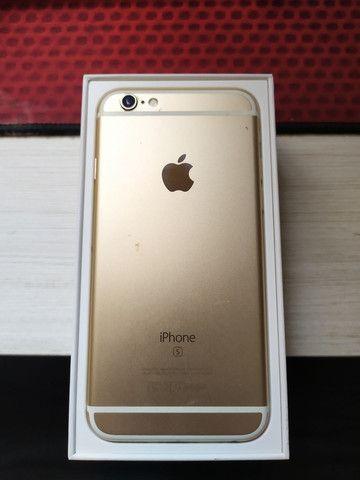 iPhone 6s dourado - Foto 2