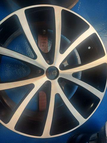Barbada jogo rodas aro 20 topp furação 5x100