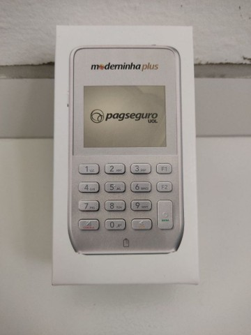 Máquinetas PagSeguro, bateria que dura muito, chip ilimitado