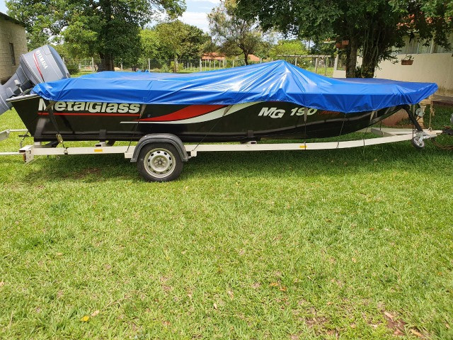 Lancha MG 190 Fishing 90hp Yamaha 2010 - Foto 8