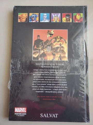 Graphic Novels Marvel - Ed. 02 - Os Surpreendentes - Vol 36 - X-Men - Superdotados - Foto 2