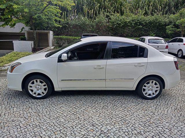 Nissan Sentra 2013 2.0 mec.branco(lindo!)completo+gnv+revisado+novíssimo!! - Foto 12