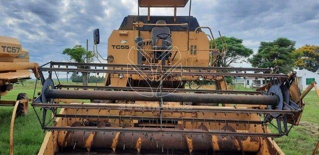 Colheitadeira New Holland TC55 Arrozeira ano 1994.