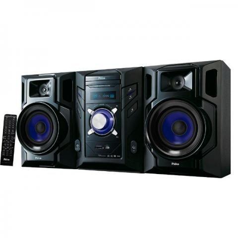 Mini System Philco Com Reprodutor De Dvd, Usb Karaokê 600w