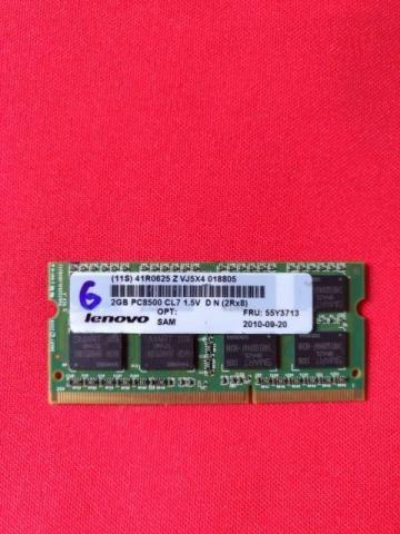 Memória notebook 2gb DDR2