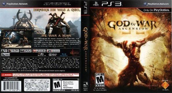 Mega Promoção God Of War Ascension Jogos PS3 Ultimas unidades