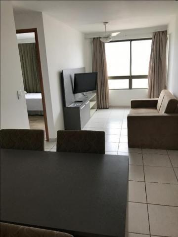 Beach Class Residence, 2 quartos. mobiliado, na Av Boa Viagem