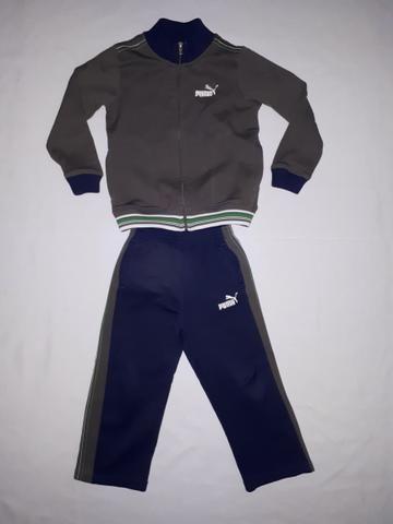 Conjunto de inverno infantil Puma tam 4T_frio_calça e casaco