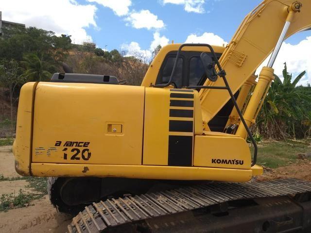 Escavadeira Pc 20 120 9.000 horas - Foto 2
