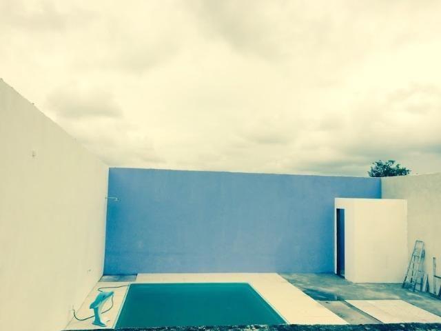 Casa de condomínio com 02 quartos,com piscina - Vista Alegre - SG