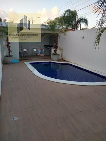Casa Cond. Fechado, no Antares, 3/4, suíte, varanda, nascente, com piscina - Foto 17