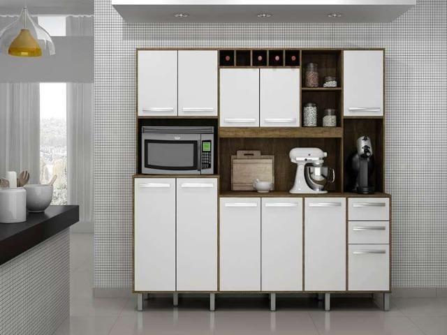 Cozinha Petra 11 Pts, 2 Gts e Mini Adega ( Em até 12 X sem Juros ) - Foto 4