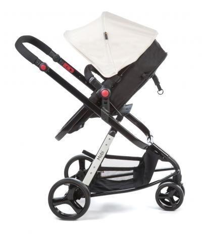 Vendo carrinho 3 em 1 para bebê + espelho para carro