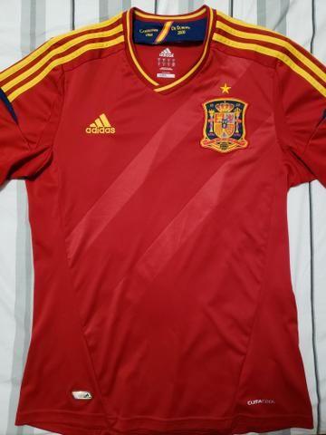 Camisa Seleção Espanha - Esportes e ginástica - Centro d265e4647dec9
