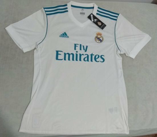 Camisa Real Madrid Original - Esportes e ginástica - Jardim Rodolfo ... e1c06fc725762