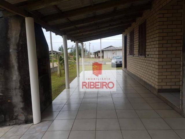 Casa com 3 dormitórios à venda, 103 m² por R$ 155.000, 350 metros do Mar - Zona Nova Norte - Foto 7
