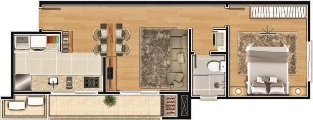 Apartamento à venda com 2 dormitórios em América, Joinville cod:8810 - Foto 9