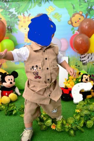 610ef7771 Roupa Mickey Safari 1 ano - Artigos infantis - Realengo, Rio de ...