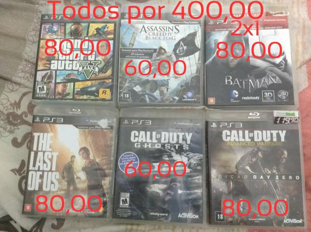 Jogos de PS3 - São Leopoldo RS