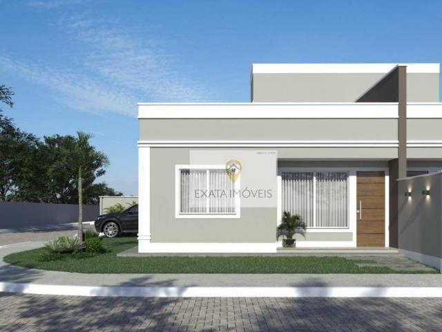 Lançamento! Casas lineares 3 quartos/ Chácara Marilea/ Rio das Ostras - Foto 3
