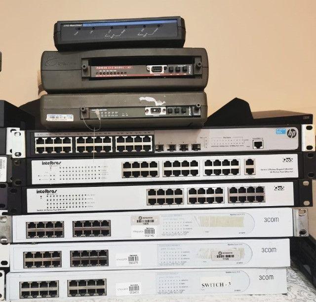 Equipamentos de Redes - Switches, Modems e conversores - Foto 3