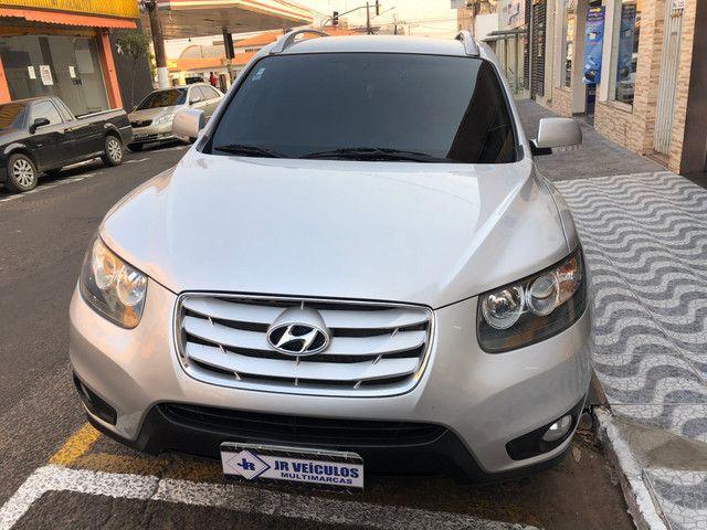 Hyundai/Santa Fé 2011 Prata 7 lugares Nova (JR VEÍCULOS)