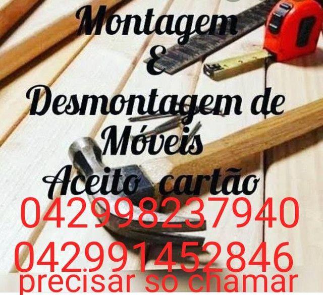 Montagem e desmontagem de móveis(Marido de Aluguel).