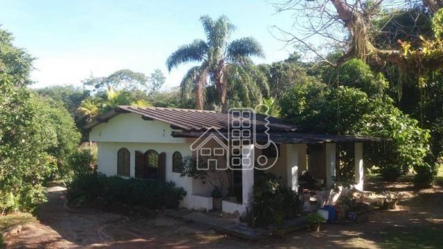 Sítio com 2 dormitórios à venda, 36000 m² por R$ 870.000,00 - Inoã - Maricá/RJ