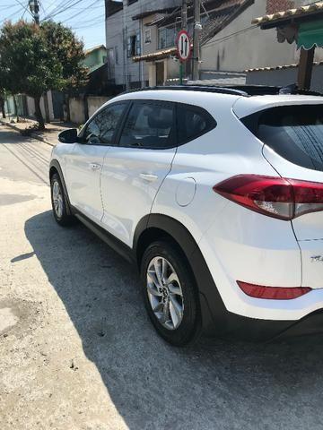 New Tucson Hyundai GLS 1.6 GDI Turbo (Aut) 2018 com IPVA 2020 Pago - Foto 4