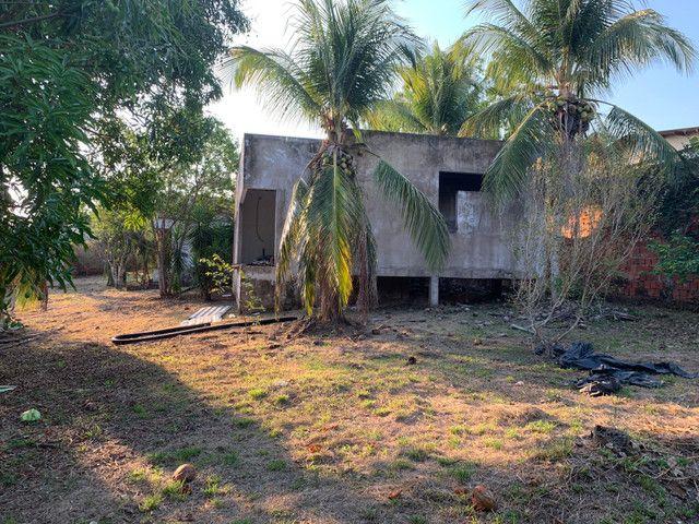 Terreno chácara Ipe com casa inacabada - Foto 3