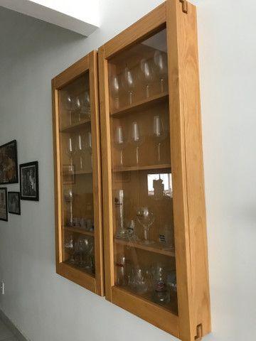 Vendo 2 cristaleiras para parede Tok Stok - Foto 2