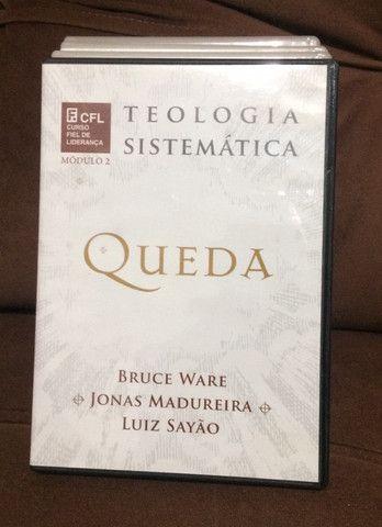 Coleção de dvd?s de estudos teologia sistemática (editora fiel) - Foto 2