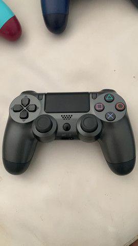 Controle PS4 NOVO primeira linha - Foto 4