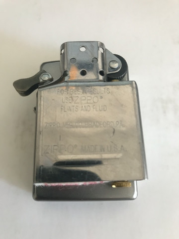 Zippo Original em aço escovado novinho - Foto 4