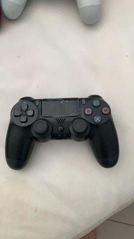 Controle PS4 NOVO primeira linha - Foto 2